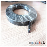 El cable de caucho de silicona