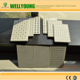 Precio competitivo placa yeso perforados de alta calidad