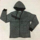 Ватка &#160 Chevron Knit Gagt петли износа людей; Пальто ворота стойки в спорте одевает  Fw-8761
