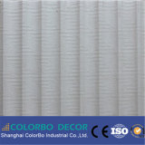 El panel de pared insonoro decorativo material del MDF 3D