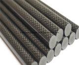 Fibra personalizzata leggera ad alta resistenza Rod del carbonio di formato