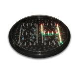 отметчик времени комплекса предпусковых операций света лампы островка безопасност зеленого цвета СИД 300mm красный