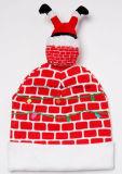 أشعلت فوق سعيدة [فوكين'] عيد ميلاد المسيح [بني] قبعة ([كفك7069إكس])