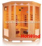 2016 Salle de sauna infrarouge Sauna traditionnel pour 3-4 personnes (SEK-C3C)