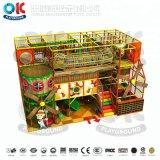 Castello impertinente del campo da giuoco dei bambini del campo da giuoco dei giochi dell'interno molli dell'interno della strumentazione
