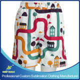 Custom Sublimation Printing Youth Microfiber Sports Board Beach Shorts