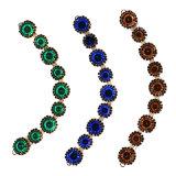 بلورة [مولتي-كلور] ينظم عقد مجوهرات مع دبوس الزينة 0043