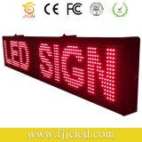 Janela de sinais de LED Janela de deslocamento da mensagem