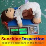 De Diensten van de Kwaliteitsbeheersing Van het Stuk speelgoed van de pluche/de Betrouwbare Diensten van de Inspectie op Al Soort Speelgoed