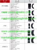 La zapata de freno de servicio pesado/Casting Zapata 335 420 41/20/3354204120 Benz-170