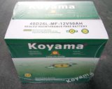 Batterie Auto SMF de haute qualité batterie de voiture 12V50AH N50-MF