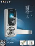 Fechamento de porta biométrico da impressão digital, fechamento Keyless da impressão digital, fechamento de porta eletrônico de Digitas