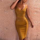 Платье повязки Bodycon платья выскальзования
