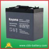 12V 55ah tiefe Schleife-Gel-Batterie für Solar