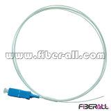 Palavra simples de fibra óptica interna 0.9mm do Pigtail da única modalidade de SC/PC