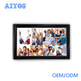 Aiyos fornece o Slideshow do vídeo clip do MP3 da sustentação do quadro de retrato do ângulo de opinião da alta qualidade HD completamente -