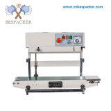 Bespacker FR-770LW Fecha de impresión papel de aluminio de Plástico Papel Kraft Bolsa continuo automático máquina de sellado Sellador de calor
