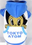 Мультфильм Atom собака слой с Red Hat