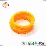Gelber Gummio-ring des Gas-Undurchlässigkeit-Widerstand-NBR für Zylinder