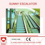 Energie - Einsparung - Heavy Duty Sub Way Escalator mit Niedrig-Drehzahl 15 FPM und High Speed 100 FPM