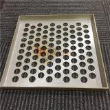 壁のクラッディングの使用のための円形の穴のパーホレーションのアルミニウムクラッディングパネル