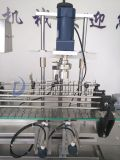 Combinan 1-5L de aceite de oliva Llenado y Tapado Máquina con 4 rellenos