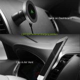 Los montajes de ventilación de coche magnético inalámbrica celular cargador de coche