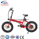 20дюйма складной велосипед с электроприводом шин жира