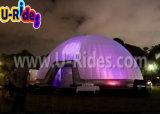 党のための明快で膨脹可能なLEDのドームのテントをカスタマイズしなさい