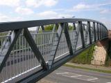 Fardo da construção de aço para a ponte
