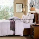 Comforter 100% do algodão para baixo/Quilt de Microfiber/Duvet alternativos brancos do poliéster