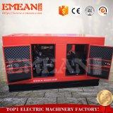 有名なエンジンおよび交流発電機が付いている100kwおおいの無声ディーゼル発電機