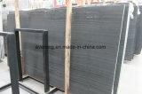 黒い木製の穀物または森林黒かケニヤの黒い大理石の平板及びタイル