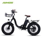 Changzhou Aimos En15194 keurde Vouwbare Vette Band Ebike 500W goed
