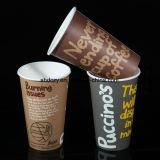 La flexographie 9oz à paroi simple Solo pour boire la tasse de café en papier