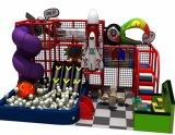 Tema de selva comercial playground coberto