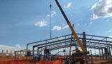 Tailandia entramado de acero estructural edificio con forma especial