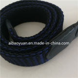 Синий и черный стильный ремень оплеткой