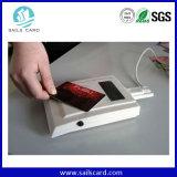 Dupla frequência combinada RFID HF + Cartão Chave UHF