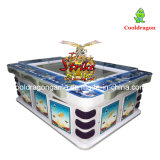 De visserij van Arcade die de Machine van het Spel van Vissen met de Software van Cooldragon van de Acceptor van de Rekening vangen