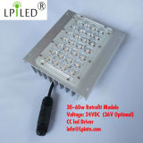 Indicatori luminosi di via di modifica del modulo del lampione LED 30-60W