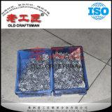 Calza del corte del carburo cementado del tungsteno de la fuente K20 del OEM