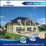 Casa prefabbricata della struttura d'acciaio dell'indicatore luminoso di disegno moderno per la vocazione