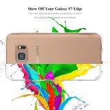für Rand-Fall der Samsung-Galaxie-S7 dünne dünne weiche saugfähige Schlußschutzkappe des Gel-TPU für Rand der Samsung-Galaxie-S7