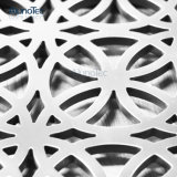 Modelos decorativos del metal del panel del corte del laser del aluminio