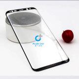 vidrio del protector de la pantalla del vidrio Tempered de los accesorios del teléfono de la cubierta completa 3D para la galaxia S8 S8plus de Samsung