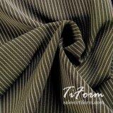Polyester-gestreiftes Silk-Like Gewebe 100% für Sommer-Blusen-Klagen