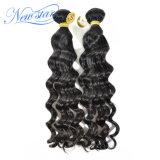 Il tessuto allentato brasiliano dei capelli dell'onda impacchetta i capelli umani di estensione 100% dei capelli del Virgin