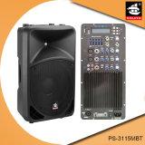 15 Spreker pS-3115mbt van de PA van de Echo van Bluetooth EQ van de FM van de duim 250W USB BR de Plastic Actieve