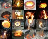 Средняя частота индукционные печи отопления плавления Температура плавления медь серебро золото индукционного нагрева Плавильная печь